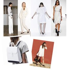 White on white –Even though monochrome looks can be tricky to pull off, white is a no-brainer. And it´s the perfect color to celebrate summer´s arrival in (do you realize midsummer is just about a month away?) Whether you´re into the starchy bright whites Raf Simons just showed for his Christian Dior Resort 2015 collection, or more of a down-to-earth off-white-gal like Tomas Maier´s Resort chick – white is available in any way you want it! I personally like my full-on-whites to go with a ...