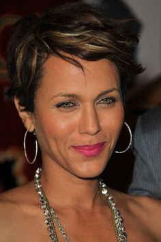 "Nicole Ari Parker at the Pan African Film Festival opening night with the screening premiere of ""35 and Ticking"", held at the Culver Plaza Theatre in LA."