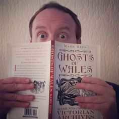 """GHOSTS OF WALES Join Mark Rees - host of the """"Ghosts & Folklore of Wales"""" podcast and author of books such as """"Parnormal Wales"""" - for a curious journey through the """"most haunted"""" locations in Victorian Wales in search of real-life Welsh ghost stories: """"Spine-chilling reports of two-headed phantoms, murdered knights and spectral locomotives filled the pages of the press. Spirits communicated with the living at dark séances and caused workers to down tools at the haunted mines"""" Art by Sandra Evans History Of Wales, Haunted History, Most Haunted, Ghost Stories, Weird And Wonderful, Welsh, Chilling, Folklore, Ghosts"""
