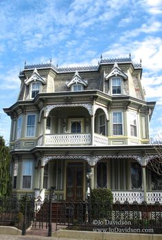 I know, I know - three floors means three floors of stairs, but I'm a sucker for a good Victorian house.