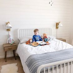 Twin Beds For Boys, Kid Beds, Outer Space Bedroom, Shared Boys Rooms, Teen Furniture, Baby Room Design, Boys Bedroom Decor, Full Bed, Headboard And Footboard
