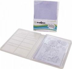 THIS LADY SEEMS TO HAVE HAVE DISCOVERED most of the pratical ways to Organize Clear Stamps Or a lot of other things, like die cuts embossing floders, etc. - Simple Scrapper