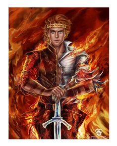 """Rand al'Thor, The Dragon Reborn"" poster"