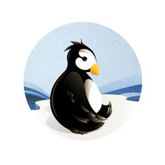 Sad pinguin designed by Nichola Potvin. the global community for designers and creative professionals. Motion Design, Donald Duck, Penguins, Disney Characters, Fictional Characters, Sad, Creative, Illustrations, Penguin