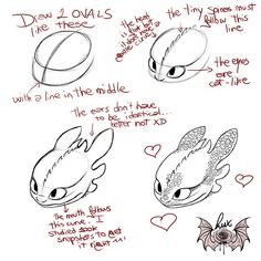 Small tutorial-ish thing on how to draw Toothless's head. It may actually be n… Small tutorial-ish thing on how to draw Toothless's head. It may actually be not so easy to get this baby right – although the majority of… Disney Drawings, Cute Drawings, Animal Drawings, Drawing Sketches, Small Easy Drawings, Toothless Sketch, How To Draw Toothless, Baby Toothless, Jhin League Of Legends