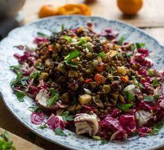 Lentil Salad with Roasted Vegetables