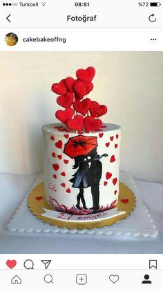 Sexy Cakes, Cute Cakes, Buttercream Cake, Fondant Cakes, Day Of The Dead Cake, Happy Anniversary Cakes, Matcha Cake, Owl Cakes, Bolo Cake
