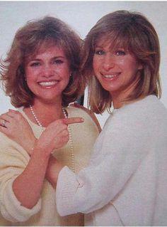 Barbra with Sally Field!