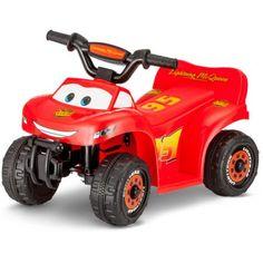 Disney Cars 6V Battery Powered Ride-On Quad - Walmart.com