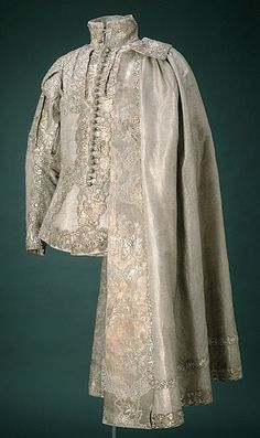 Jacket belonged to Prince Frederick Adolf of Sweden, worn by Gustav III's coronation at May 29, 1772
