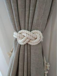 2 X Traditionnel Vieux Design Classique Crochet Lien de Rideaux Embrasse
