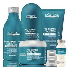 Pro keratin refill is a great option for weak fragile hair that needs strength and nourishment