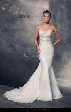 3cf996dbe405 14 najlepších obrázkov z nástenky Extravagantné svadobné šaty ...