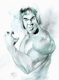 The Incredible Hulk Original Comic Art by Shelton Bryant | eBay