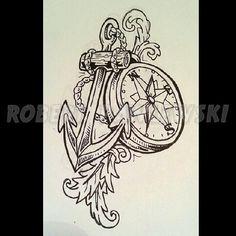 compass rose nautical tattoo - Google Search
