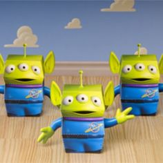 Toy Story Party - Printable Decorations – 3D Squeeze Toy Aliens