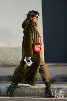 It was the women who also stole the show on the streets at Milan Men's Fashion Week AW18. See the latest street style looks which will soon be part of your winter wardrobe collection.