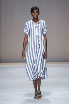 Amanda Laird Cherry   Spring Summer 2018    Look 10   Photo by Eunice Driver for South African Fashion Week South African Fashion, African Fashion Designers, Dress Up, Shirt Dress, Spring Summer 2018, Amanda, Cherry, Model, Shirts