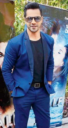 Varun Dhawan at #Dilwale's promo event.