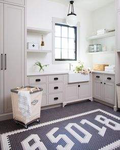 """Jaimee Rose Interiors on Instagram: """"That time we took our tile-setting torture to a whole. new. level. 🤯 But wouldn't you want Phoenix's swankiest zip code tattooed on your…"""" Laundry Room Inspiration, Home Decor Inspiration, Small Laundry Rooms, Coffee Table Books, Interior Design, Mudroom, Tile, Zip Code, Instagram"""