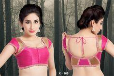 kancheepuram saree blouse back designs - Google Search