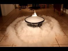 Giant Dry Ice Bubble Experiment!--SO SO COOL!!!