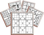 Follow the link for free online logic puzzles. This site includes logic grids, Kakuro, Sodoku, Battleship, and others. Many puzzles are free, and more can be accessed by becoming a member.
