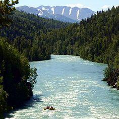 Kenai River Rafting Trip, Alaska lived in Kenai & Soldotna, alaska.