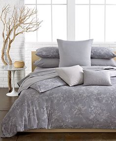 Calvin Klein Bedding, Lilacs Comforter and Duvet Cover Sets - Duvet Covers - Bed & Bath - Macy's