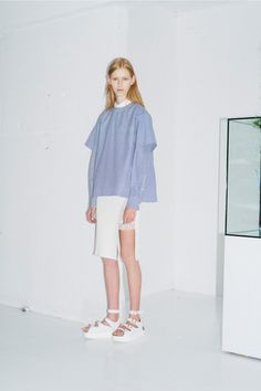 Sacai Luck Resort 2015 Collection Slideshow on Style.com