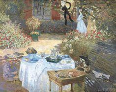 Claude Monet - Le Déjeuner 1872