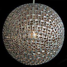lampara reciclada #diy #crafts