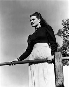 Maureen O'Hara in How Green Was My Valley (1941). ---------- Great book, so I was thrilled when I came across the DVD; wonderful movie, so touching.