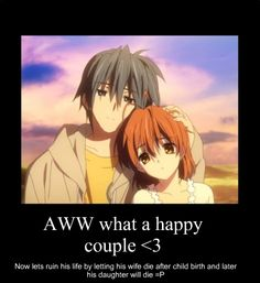 Clannad *sniff* I could not stop crying...