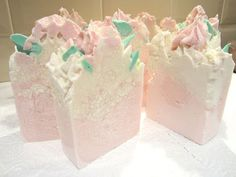 Rose Garden Artisan Soap by EarthKandi