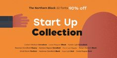 Font dňa – The Northern Block's Start-Up Collection   https://detepe.sk/font-dna-the-northern-blocks-start-up-collection?utm_content=buffer964ae&utm_medium=social&utm_source=pinterest.com&utm_campaign=buffer
