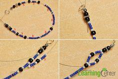 Make a basic beads pattern