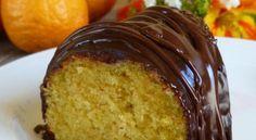 Κέϊκ Πορτοκαλιού με γλάσο σοκολάτας νηστίσιμο!