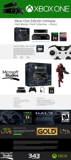 Paquete Xbox One Halo The Master Chief Collection + Kinect