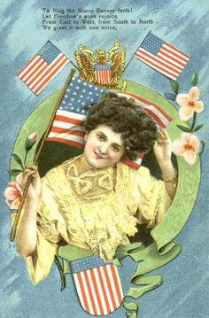 Patriotic of july postcard, 1908 vintage misc. Patriotic Posters, Patriotic Images, Happy 4 Of July, Fourth Of July, Vintage Cards, Vintage Postcards, George Washington Birthday, Happy Birthday Uncle, Yankee Doodle Dandy
