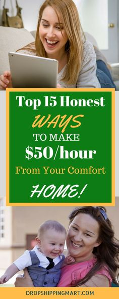 How to make money working from home? Looking for work from home jobs? Online jobs are a great way to earn money without leaving your home. Here is the proven way home-based side hustle you can start now.http://dropshippingmart.com/top-15-easy-ways-earn-extra-cash/