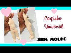 Corpinho universal - Sem molde - YouTube Polymer Clay Sculptures, Sculpture Clay, Clay Dolls, Art Dolls, Clay Tutorials, Silicone Molds, Videos, The Creator, Make It Yourself