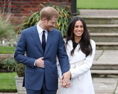 Prince Harry and Meghan Markle just made their first appearance as an engaged couple. Hit the link in our bio for everything we know about the ring—and how Harry honored his mother Princess Diana.❤️ #princeharry #meghanmarkle #royalwedding