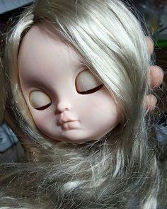 Sleepy Benjamin  my student job lol   #icydoll #icydollcustom #litachan #customdolls #carving