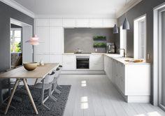 Kuchyně ve skandinávském stylu | Styl a Interier