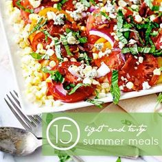 15 Light and Tasty Summer Meals