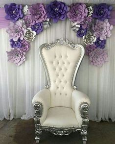 Pipe and Drape . Our staff will deliver, install and take down your pipe and drape professionally & efficiently. Sweet 16 Decorations, Quince Decorations, Quinceanera Decorations, Wedding Chair Decorations, Quinceanera Party, Wedding Chairs, Quinceanera Dresses, Queen Chair, King Chair