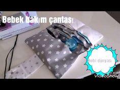 Bebek bakım çantası yapımı (bakım çantası) - YouTube