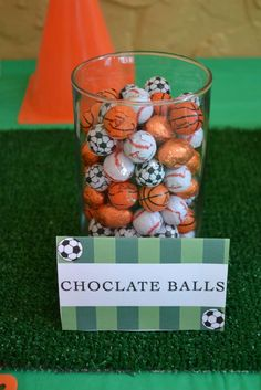 Sports Birthday Party Ideas | Photo 1 of 23 | Catch My Party