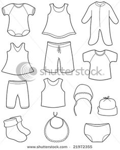 baby clothes free template making ideas!! I\'m using this to make a ...